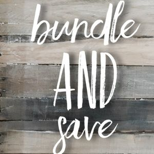Bundle and Save 15 % on 3+ items!